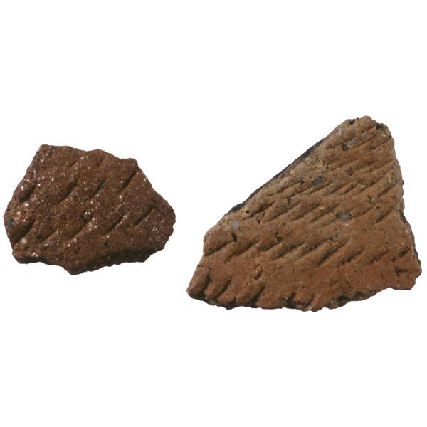 爪形文土器