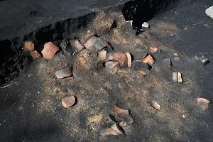 奈良時代の竪穴住居跡
