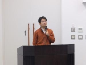 考古学講座後期第2回講師 高瀬 克範先生