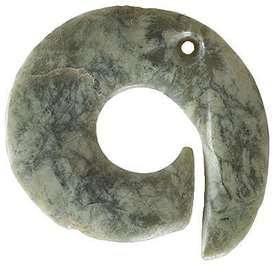 松ヶ崎遺跡出土 石製耳飾り